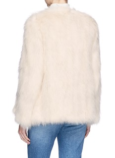H Brand 'Emily' fox fur jacket