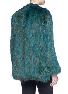 H Brand 'Blair' fox fur jacket