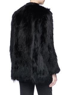 H Brand 'Nicolo' fox fur jacket