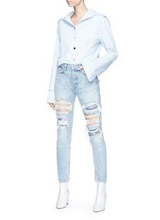 GRLFRND 'Karolina' ripped skinny jeans