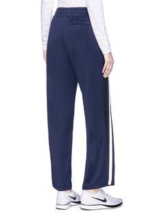 Lorna Jane 'Rocca Flyer' stripe outseam track pants