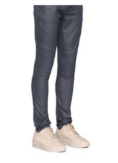 Filling Pieces 'Low Plasma Heel Cap Orbit' nubuck leather sneakers