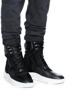 Filling Pieces 'Peak' platform leather boots