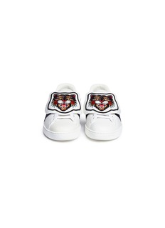 Gucci 'Ace' Angry Cat patch leather sneakers