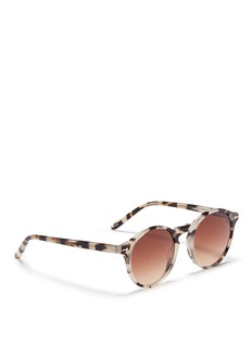 Sons+Daughters Eyewear 'Clark Sun' kids tortoiseshell acetate round sunglasses