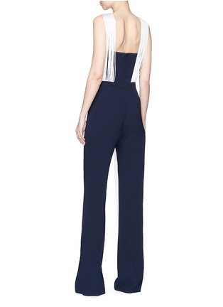 Figure View - Click To Enlarge - Galvan London - Fringe suiting jumpsuit