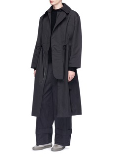 Craig Green Attached strap worker coat