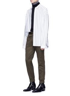 Juun.J Turtleneck underlay wool sweater