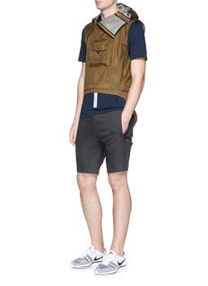 NikeLab Panelled jersey shorts