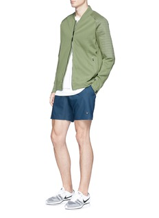 NikeLab 'NikeCourt x RF' perforated panel tennis shorts