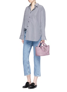 Meli Melo 'Rose Thela' mini leather bag