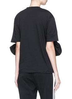 VICTORIA, VICTORIA BECKHAM Bow cuff T-shirt