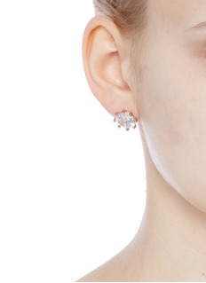 Eddie Borgo Cubic zirconia stud earrings