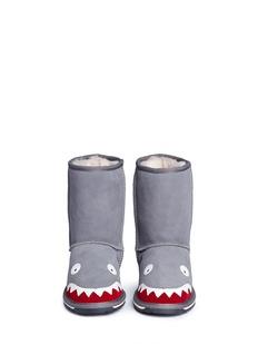 EMU AUSTRALIA 'Shark' Merino wool kids boots