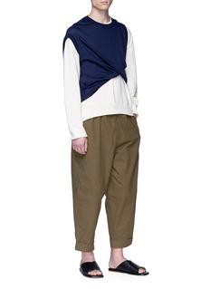 3.1 Phillip Lim Reconstructed sweatshirt