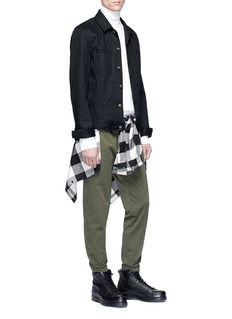 3.1 Phillip Lim Elastic cuff twill jogging pants