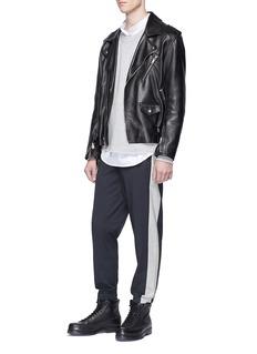 3.1 Phillip Lim Stripe outseam jogging pants