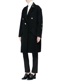Ellery 'Janice' cocoon sleeve oversized coat