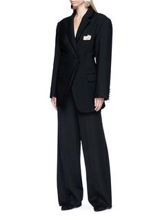 Jacquemus 'La Vest De Costume' asymmetric wool blazer