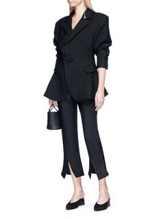 Jacquemus 'Le Corsaire Fen Du' split cuff cropped suiting pants