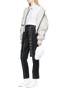 Hyein Seo 'Kaneda' slogan graphic print bomber jacket