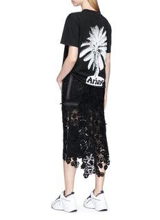 Aries 'Palm Tree' print T-shirt