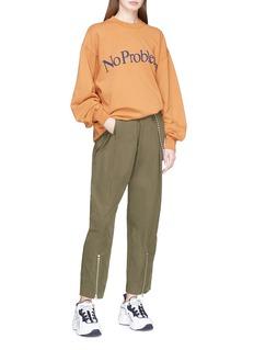 Aries 'No Problemo' slogan print sweatshirt