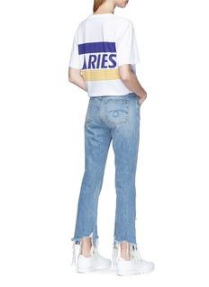 Aries 'Credit Card' logo print T-shirt