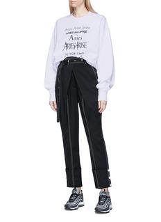 Aries 'Perfume' logo print sweatshirt