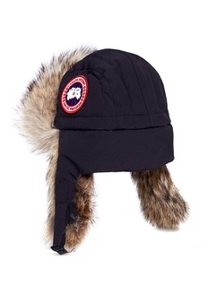 Canada Goose Coyote fur trim aviator hat
