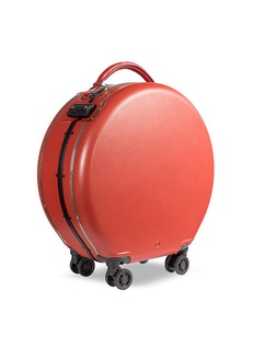 OOKONN Round carry-on spinner suitcase –Red