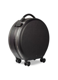 OOKONN Round carry-on spinner suitcase –Black