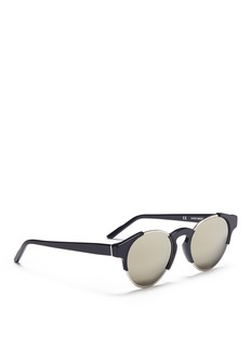 SUPER 'Arca' round mirror sunglasses