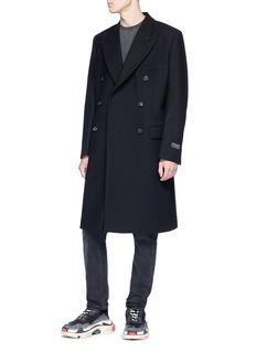 Balenciaga Wool twill coat
