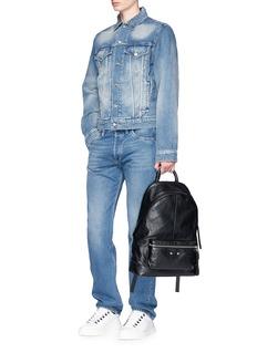 Balenciaga 'Arena' crinkled leather backpack