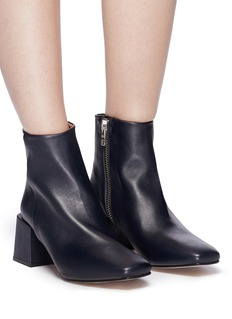 LOQ 'Lazaro' block heel leather ankle boots