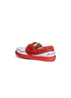 Eli Leather toddler kiltie moccasins