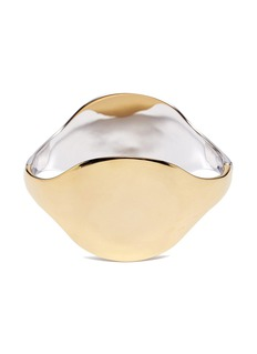J.HARDYMENT '2 Face' sterling silver bangle
