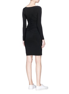 Norma Kamali Ruched waist dress