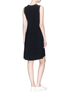 Norma Kamali Sleeveless jersey dress