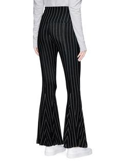 NORMA KAMALI 条纹弹力喇叭裤