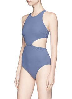 Flagpole Swim 'Lynn' cutout one-piece swimsuit