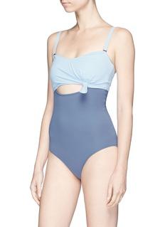 Flagpole Swim 'Nora' cross back one-piece swimsuit