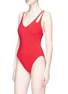 Araks 'Jamie' asymmetric strap one-piece swimsuit