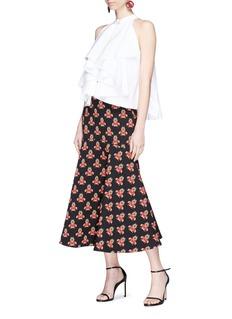 Caroline Constas 'Adrie' ruffle poplin blouse
