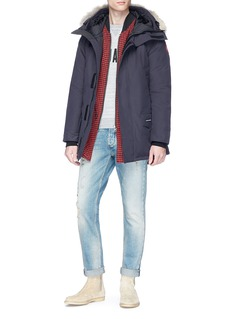 Canada Goose 'Langford' coyote fur trim hooded down padded parka