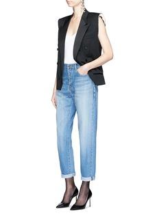 Saint LaurentDeconstructed wool suiting vest