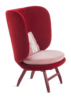 Moroso Ayub armchair – Red