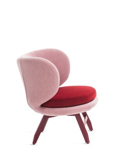 MOROSO Ariel小号扶手椅-红色