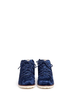 AKID KIDS Jasper儿童款天鹅绒短靴
